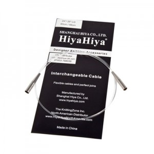"CABLES ""LARGE"" POUR AIGUILLES INTERCHANGEABLES HIYAHIYA"