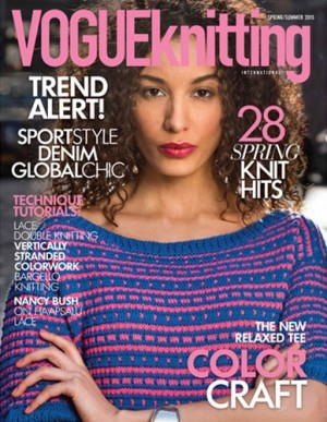 VOGUE KNITTING PRINTEMPS 2015