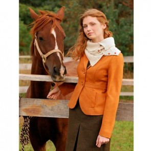 BUTTON UP COWL Blue Sky Alpacas