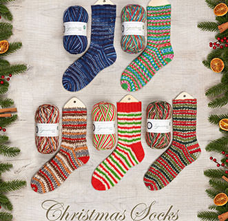 CHRISTMAS SOCKS YARN