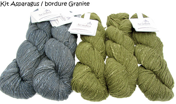 Quaking Aspen Shawl asparagus-granite
