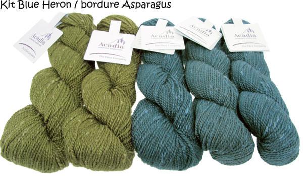 Quaking Aspen Shawl blueheron-asparagus