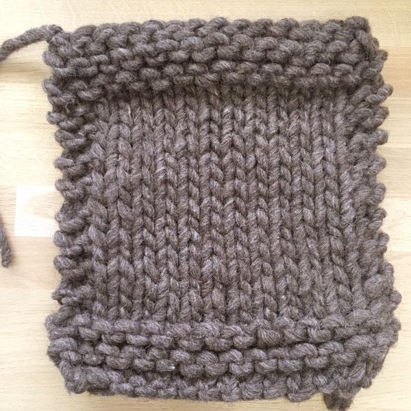 corde de moine tricotée